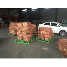 Chatarra de alambre de cobre de alta pureza 99,9% min / Chatarra de Cobre MillBerry