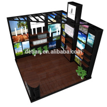 Detian Offer shanghai expo exhibition display stall rent trade show display booth system