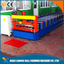 hebei xinnuo 760 roofing sheet rollforming machine