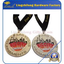 Custom Award Medal with Ribbon