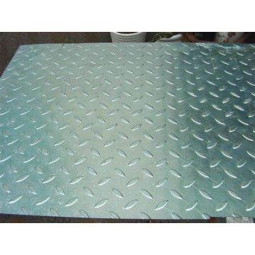INMERSIÓN caliente galvanizó la reja del acero combinada con placas de Checker