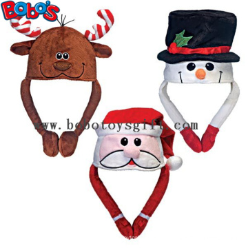 Weiche Plüsch-warme Winter-Kappe Tier-Party-Hut Weihnachtshut