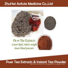 Té de hierbas medicinales Bebidas Extractos de té Puer y polvo de té instantáneo