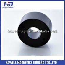 NdFeB ring magnet black color epoxy coating N52