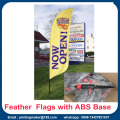 Promotion Feather Flags Custom mit Kits