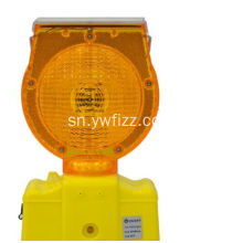 Solar LED Traffic Warning Flashlight