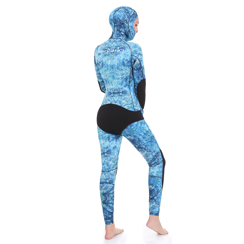 Blue Water Camouflage Spearfishing Wetsuit