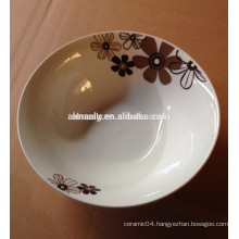 daily houseware using porcelain bowl