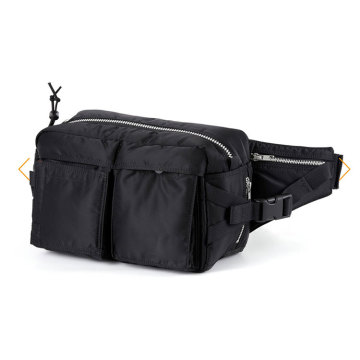 Mens Plain Fashion Fanny Pack Taille Bum Bag