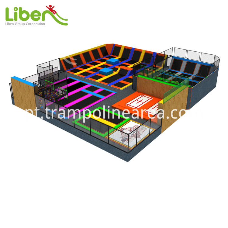 attractive indoor trampoline