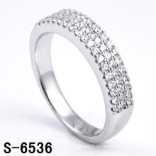 Anillo de joyería de plata de ley 925 para mujer (S-6536. JPG)