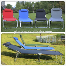 Wholesale China Humanized Design Strong Colorful Folding Steel Tube Camping Cot Army Cot Bed