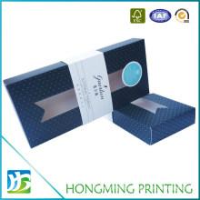 Custom Design 300g White Cardboard Gift Tie Box