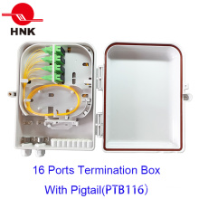 FTTH 16 Волоконно оптические волокна Box Box для Sc / LC адаптеры