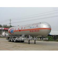 3 axles LPG transport semi-trailer vehicle