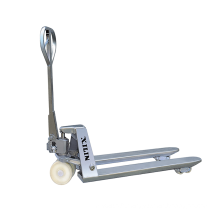 Xilin 2500kg Hand Operated Forklift Trolley Manual Pallet Jacks Stainless Steel Hand Pallet Truck