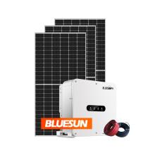 Full panel kits 30kw grid tie solar panels system roof 30kw solar panel grid tie  roof mounting system bulgaria