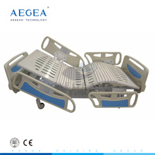 Aegean AG-BY003 uso linak motores multi función suave cuatro parte cama cama paciente enfermería fabricante cama eléctrica
