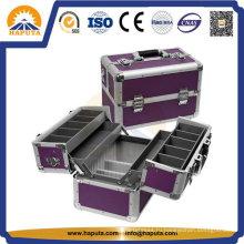 Портативная многофункциональная алюминиевая косметическая упаковка и кейс для поезда