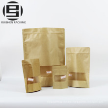 Aluminum foil kraft window paper packaging bags