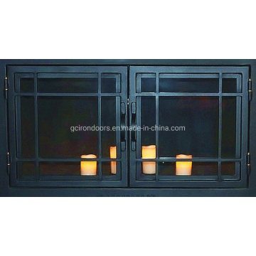 Steel Fireplace Front Door