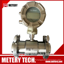 Digital Tri Clamp Thread Flow Meter with 4-20mA