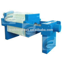 Small Filter Press Machine,Small Machine Filter Press with Manual Hydraulic System Operation,Leo Filter Press Small Filter Press