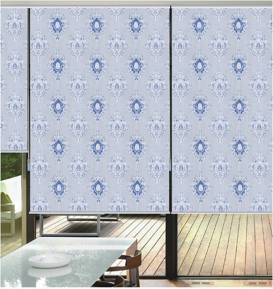 Roller Shade Blind Curtain Jacquard