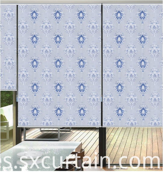 Curtain Jacquard Blind Roller