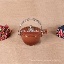 Nouveau théière et thé bouilloire en fonte