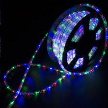 Lumières colorées imperméables décoratives de corde de bande de LED