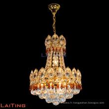 Lustre en cristal d'économie d'énergie d'or K9 cristal pour la maison 70089