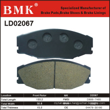 Advanced Technology Brake Pad for Toyota