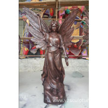Antique Beonze Angel Statue For Outdoor Decoration