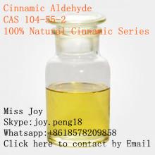 Cinnamálico aldehído 100% natural de alta calidad cinamaldehído CAS 104-55-2 principal fuente de la fábrica