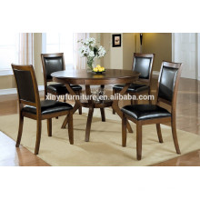 American village style wooden dining table and chair set XYN1511