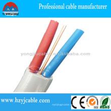 Diagrama de cableado eléctrico de cable de tierra plana de cobre libre