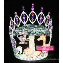 Primavera moda vintage cutie animal paraíso tiara
