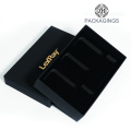 Matt black gold foil stamping EVA insert packaging