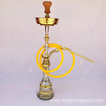 Single Hose Gold Hookah