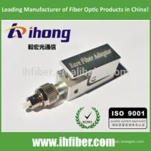 FC UPC adaptador de fibra óptica desnuda cuadrada