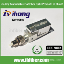 FC UPC Square Bare Fiber optical Adapter
