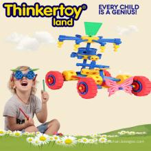 Bloc de construction de jouets créatifs pour enfants en forme de camion