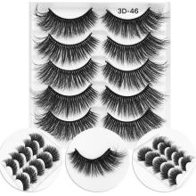 5in1 box individual 100%silk 3d private label eyelashes