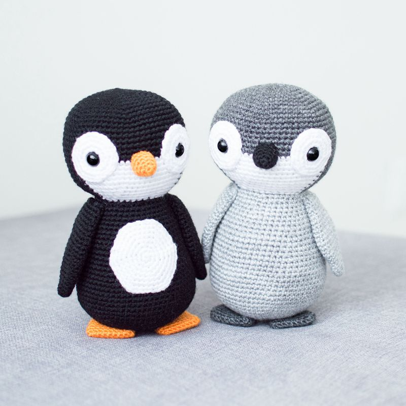 13 4 Crochet Penguin