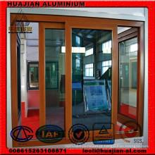 Perfis de extrusão de alumínio para portas deslizantes e janelas