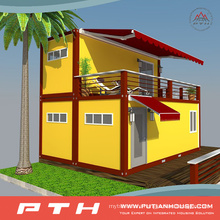 Luxury Flat Pack Container House Pre-Made China Supplier