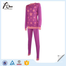 Little Teen Girl New Customed Lady Thermal Ski Underwear Set