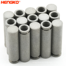 HENGKO high quality custom porous sintered replacement air filter cartridge cleaner stainless steel 316 316L