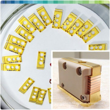 808nm micro water-cooled bars 100w bars microchannel diode
